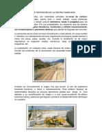 274351926 Procedimiento de Obtencion de La Piedra Chancada