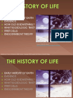 History of Life ppt