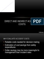 Accident cost direct and indirect