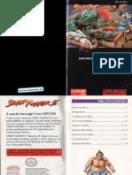 Street fighter manual