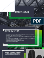Maruti Suzuki Term Project