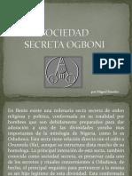 Sociedad Secreta Ogboni