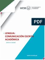 Lengua Separata Desarrolada 2019-1