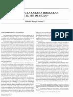 -colombia - La guerra irregular en el fin del siglo