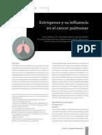 Influencia de los estrógenos en cáncer de pulmón