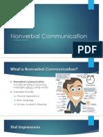 Nonverbal Communication by RISHABH