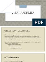 Thalassemia Case Study