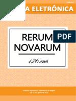 Revista Eletrônica (MAI 2017 - Nº 59 - Rerum Novarum)
