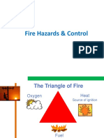 Fire Hazards and Controls