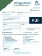 Formulario Solicitud DPE Dic2017