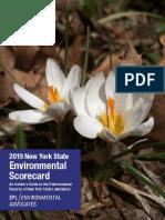 2019 Environmental Scorecard