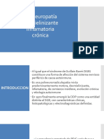 Polineuropatía desmielinizante inflamatoria