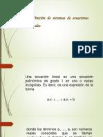 Sistema de Ecuaciones 1