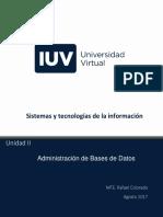 bases de datos U2