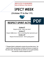 October E.M Burke & Bellmawr Park Spirit Wear and Activities!