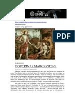 GNOSTICISMO_DOUTRINAS MARCIONITAS.