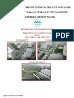 Rapport d'Avancement Zone III Arreté Au 04-09-19