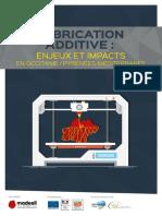 Fabrication Additive en Occitanie Etude 2016