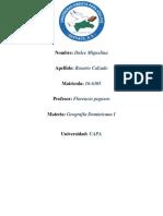 Tarea II de Geografia Dominicana