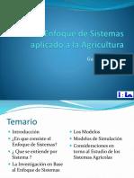 El Enfoque de Sistemas Aplicado a La Agricultura
