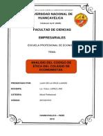 Análisis del código de ética del colegio de economistas.docx