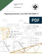 Broschuere Nagelplatten Nach DIN 1052regese