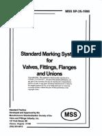 MSS SP 25 Marking System for Valves.pdf