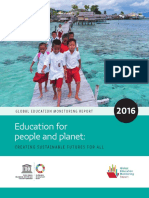 Education for people and planet Creating Sustainable Futures for all. Global Education Monitoring Report 2016.pdf