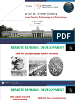 Week-1 Module-2 Development of Remote Sensing Technology and Advantages