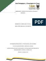 BORRADOR Unidad 2 La Comprension y Produccion Textual en Basica Primaria