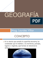 GEOGRAFÌA 1