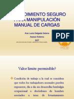 Diapositivas Manipulacion de Cargas