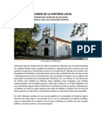 Historia Del Municipio de Villavieja