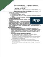 Vdocuments.mx Plan de Mantenimiento Preventivo Nissan Frontier
