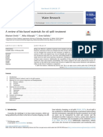 A Review of Bio-based Materials for Oil Spill Treatment