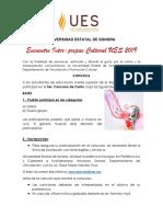 Convocatoria del 3er. Concurso de Canto 2019-2 de UES Navojoa