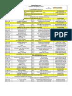 Programacion torneo de futbol inder envigado