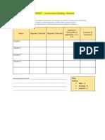 elaborate - assessment strategy checklist 3