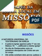 A Igreja Local e Missões