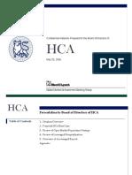 ML Board Presentation to HCA - 05-25-06