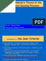 Orlando's Theory of  the Deliberative Nursing Process