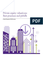 Grant Thornton Private Equity Valuations Best Practice and Pitfalls 2015 Survey