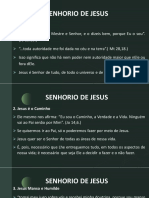 Apostila Encontro com Deus - Cap.1 - Senhorio de Jesus