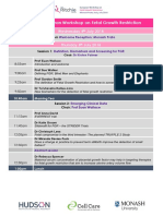 2018 European Workshop Program FINAL