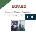 Ficha Evaluación Al Desempeño Docentes SPD Mayahii