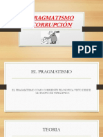 PRAGMATISMO-CORRUPCIÓN