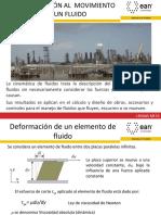 EAN MECÁNICA DE FLUIDOS CAP 3 CINEMÁTICA DE FLUIDOS