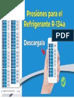 Tabla de presiones del refrigerante 134a.pdf
