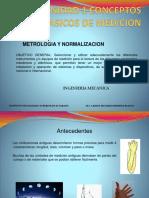 179089557 UNIDAD 1 Metrologia y Normalizacion Mecatronica Pptx