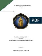 Analisis Tindak Pidana Dalam KUHP